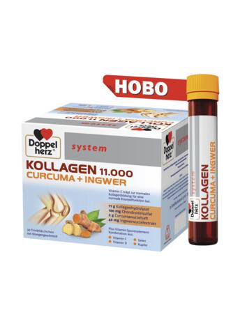 Допелхерц® систем Колаген 11.000 Куркума + Джинджифил