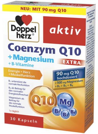 Допелхерц® актив Коензим Q10 90 mg + Магнезий EXTRA